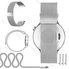 Stainless Steel Mesh Milanese Loop Strap Watch Band 18mm 20mm 22mm Quick Release image