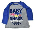 Jumping Beans Toddler Baby Shark Doo Doo Doo Tee Shirt New 2T, 3T, 4T, 5T