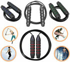 10 ft Jump Rope Aerobic Exercise Workout Speed Skipping Crossfit Gym Boxing Mens image