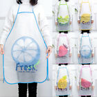 Women Childrens Waterproof Cartoon Kitchen Cooking Bib Apron Baking School Gifts