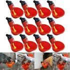 Kyпить 10/20 Pcs Poultry Water Drinking Cups- Chicken Hen Plastic Automatic Drinker US на еВаy.соm