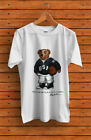 SALE-Vintage T-Shirt 90's POLO Bear Basketball Sport Gildan Reprint Size S-5XL image