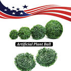 Vivid Fake Plant Ball Topiary Tree Boxwood Home Wedding Party Decor Usa Stock