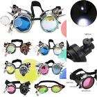 Vintage Steampunk Goggles Glasses Kaleidoscope Welding Costume Cosplay Goth Punk