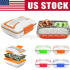 110v Portable Electric Heating Lunch Box Food Warmer Heater Container & Lunchbox