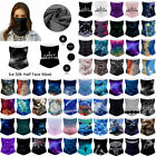 Upf 50+ Multi-use Tube Scarf Bandana Head Face Mask Neck Gaiter Head Wear Snood