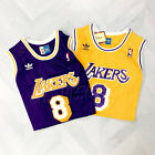 #8 Kobe Bryant Los Angeles Lakers Hardwood Classic Jersey Mens Purple Gold USA on eBay