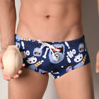 Men's Silicone Enlarge Bulge Pouch Cup Swim Push Up Pad Briefs Trunks Underwear