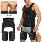 Men's 3-in-1 Thigh Shaper Trimmer Leg Trainer Body Shaper Slimming Waist Trainer image
