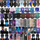 Motorcycle Balaclava Neck Gaiter Tube Bandana Face Mask Scarf Covering Reusable