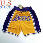 MEN'S Los Angeles Lakers Basketball Summer League Team Shorts Size S-2XL on eBay