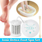 Personal Ionic Detox Foot Basin Bath Spa Cleanse Machine Array Health Care Hot