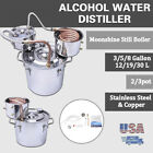 18/30L 3Pot Home Alcohol Distiller Brewing Kit Moonshine Still Stainless New.'*