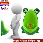 Lovely Frog Children Kids Potty Toilet Training Urinal Early Learning Trainer US image