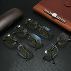Anti-blue Light Progressive Multifocal Lens Rimless Reading Glasses