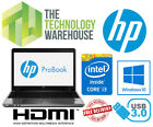 """HP Probook 4540s Laptop 15.6"""" Powerful Laptop with HDD or SSD Windows 10 & HDMI"""