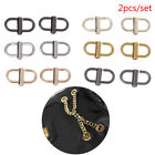 1pair Adjust Metal Buckles Chain Strap Bag Shorten Shoulder Bags Accessories To