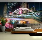 3D Bangkok Bridge B334 Wallpaper Wall Mural Self-adhesive Marco Carmassi Zoe