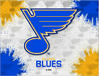 St. Louis Blues HBS Gray Navy Hockey Wall Canvas Art Picture Print $56.0 USD on eBay