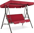 Best Choice Products 2-person Swing Chair Lounge Outdoor Adjustable Canopy Yard