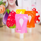 Shampoo Cosmetic Container Soap Lotion Storage Bottle Liquid Dispenser Bag Al