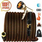"""Acko Expandable Garden Water Hose With 9-spray, 3/4"""" Fitting, Leakproof Design"""