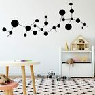 Exquisite Molecular Wall Stickers Vinyl Waterproof Wall Decal Home Decoration