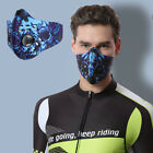 Reusable Cycling Face Mask With Active Carbon Filter Pds Protective Air Valves