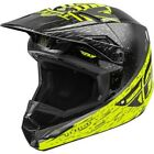 FLY Racing 2020 Kinetic K120 Helmet - Hi-Vis-/Grey/Black