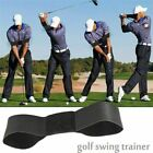 Golf Smooth Swing Training Aid Arm Posture Motion Correction Belt Sporting Goods