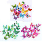 12pcs 3d Magnet Butterfly Wall Stickers Art Decal Home Decor Bedroom Decorations