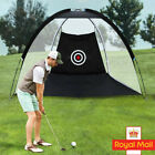 UK Outdoor Aid 2m Golf Target Strike Driving Cage Practice Net Hitting Train