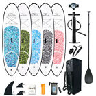 Kyпить 10' Inflatable Stand Up Paddle Board SUP Surfboard with complete kit 6'' thick на еВаy.соm