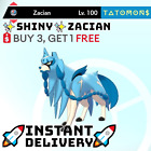 POKEMON SWORD AND SHIELD  SHINY  ZACIAN 6IV   Instant Delivery