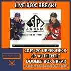 2019-20 SP AUTHENTIC (x2) DOUBLE BOX BREAK #41 - PICK YOUR OWN TEAM! $15.0 CAD on eBay