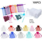 100+ORGANZA+GIFT+BAGS+Large+Small+Wedding+Party+Favour+Jewellery+Candy+Pouch