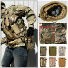 Tactical Molle Ammo Pouch Military Rifle Magazine Dump Drop Pouch Waist Bag USA
