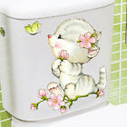 Cats Cute Diy Wall Decals Colorful Toilet Sticker Home Decor Cartoon Animal Art