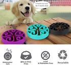 Slow Feeder Dog Bowl Eating Interactive Down Feed Large Feeding Pet Healthy Bowl