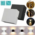 Modern COB LED Wall Light Up Down Cube Indoor Outdoor Sconce Lighting Lamp 6W