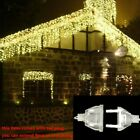 Christmas Decoration 5m Droop 0.4-0.6m Curtain Icicle Led String Lights