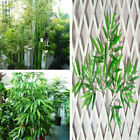 10x Home Artificial Leaf Bamboo Plants Green Tree Branches Plastic Decor Outdoor