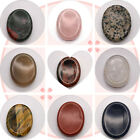 45x35mm Oval Palm Pocket Energy Worry Stone Therapy Crystal Healing Meditation