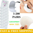 SALON EYELASH LASH EXTENSIONS UNDER EYE GEL PADS LINT FREE PATCHES MAKE UP