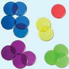 Color Plastic Poker Tokens Round Colorful Bingo Chip Counting Discs HO