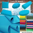 PL22-TAILOR MADE Teal Blue Outdoor Waterproof Sun Umbrella Patio sofa seat cover
