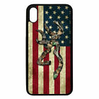 Cover Browning Deer Camo America Phone Case for 6,7,8,X,XR,XS,11 Pro Max, S/Note