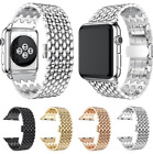 For Apple Watch Band Series 6 5 4 3 Se Stainless Steel Metal Iwatch Band Strap