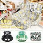 Foldable Baby Shopping Trolley Cart Seat Pad Kid High Chair Protective Mat R