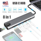 Multiport Type C USB-C HUB to 4K HDMI USB 3.0 Aux Adapter For MacBook Pro Air